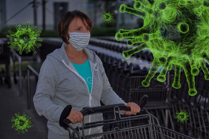 shopping during pandemic